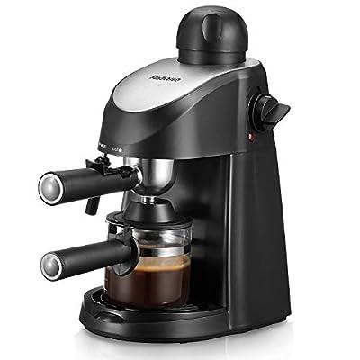 Yabano Espresso Machine, 3.5Bar Espresso Coffee Maker, Espresso and Cappuccino Machine with Milk Frother, Espresso Maker with Steamer by Yabano