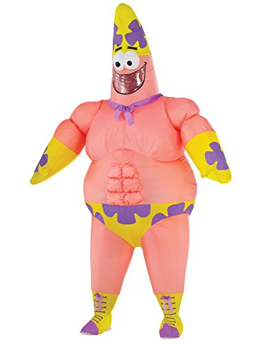 Rubie's Inflatable Adult Sponge Out of Water Costume Patrick Star