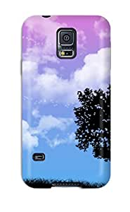 Hot 4590254K38569233 For Galaxy Case, High Quality Love For Galaxy S5 Cover Cases