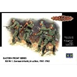 Masterbox 1/35 German Infantry in Action Eastern Front 1941-42 (4 Figures)