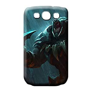 samsung galaxy s3 mobile phone back case High-end Shock-dirt Fashionable Design league of legends headhunter rengar