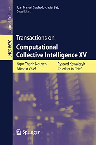 Download Transactions on Computational Collective Intelligence XV (Lecture Notes in Computer Science) Pdf