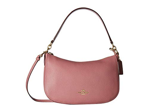 COACH Women's Pebble Chelsea Crossbody Li/Rose One ()