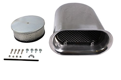 4 barrel carburetor air cleaner - 1
