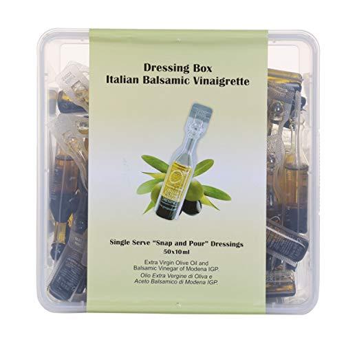 Dressing Box Italian Balsamic Vinaigrette Single Serve 50 Pack (10ml x 50)