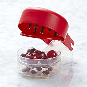 Cherry Olive Pitter, Cherry Seed Stone Remover, Removal Bone 6 Cherries Fast Enucleate Removal of Bone Kitchen Gadget Fruit Tool - Cherry Hill Wine Cabinet