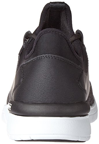 Run Flow Black Black Uomo Supra Sneaker Nero white 091 v7xq6wwn