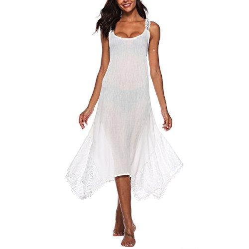 Correa Cruzada sección la detrás Costura la cordón escapa White de Vestido Color Faldas de Que Mujeres del del Hvzciuwrn largas Honda Irregular S tamaño se de df5xdFq