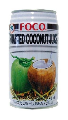 Roasted Coconut Juice (Jugo De Coco Asado) - 11.8fl Oz (Pack of 12)