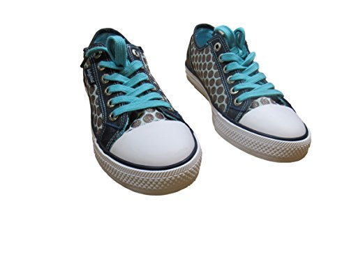 Baby Phat Womans Polka-dot Fashion Sneaker (7.5, (Baby Phat Shoes)
