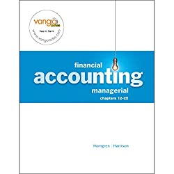 VangoNotes for Financial and Managerial Accounting, 1/e Volume 2