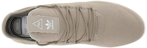 adidas Originals Men's Pharrell Williams Tennis HU Running Shoe Tech Beige/Chalk White, 4 Medium US by adidas Originals (Image #8)