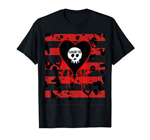 Alkaline Trio - Bloody Stripes - Official Merchandise T-Shirt