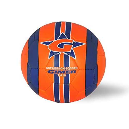 fan products of GIMER 7/610 BALL BEACH BALL SOCCER FOOTBALL SOFT SYNTHETIC MEASURES OFFICIAL