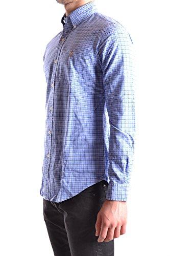 Ralph Lauren Herren MCBI251226O Hellblau Baumwolle Hemd