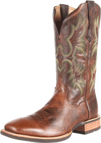 Ariat Men's Tombstone Western Cowboy Boot, Weathered Chestnut, 8 M US