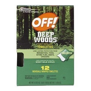 Off Deep Woods Towelettes (Wood Towelettes)