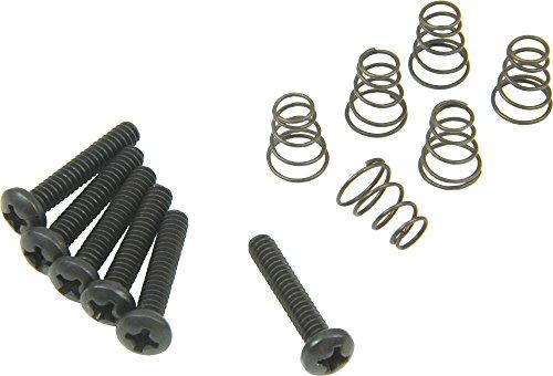 - DiMarzio Single Coil Mounting Hardware Kit Black