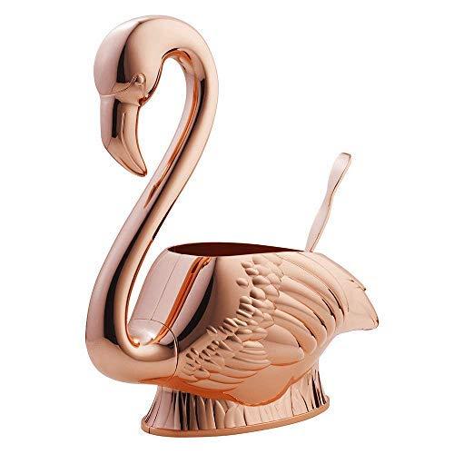 Elyx Boutique Copper Flamingo Punch Bowl | Free Recipe Book | Multipurpose Drink Mixer by Elyx Boutique by Absolut Elyx (Image #6)
