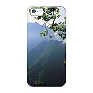 New Arrival Premium 5c Case Cover For Iphone (green Thought)