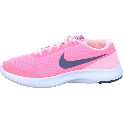 NIKE Flex Experience RN 7 (GS), Zapatillas de Running para Mujer Multicolor (Arctic Punch/Light C 600)