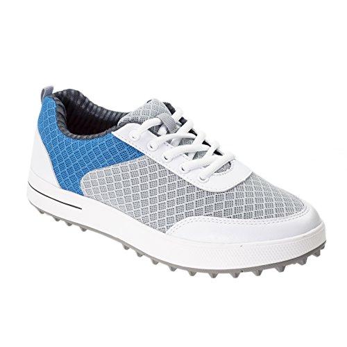 PGM Breathable Summer Golf Shoes for Women, XZ081-Blue (34 M EU / 5 B(M) US, Blue)