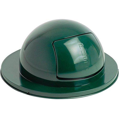 Rubbermaid Trash Can Top - Steel - Dark Green - Dark Green