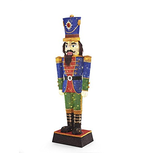 72IN 240L LED TINSEL NUTCRACKER by Home Accents Holiday (Image #2)
