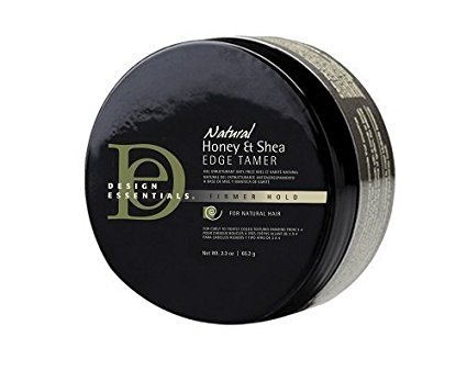 Design Essentials Natural Honey & Shea Edge Tamer with Almond & Avocado Oils for Luminous Shine and Firm Hold- 2.3oz - Edge Natural