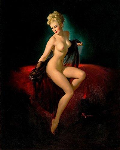 (Berkin Arts Gil Elvgren Giclee Canvas Print Paintings Poster Reproduction(Pin up Girls 82))