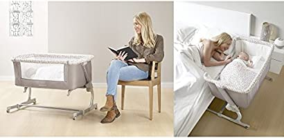 Jané Cama lateral con colchón, almohada y edredón (estrellas T01 ...