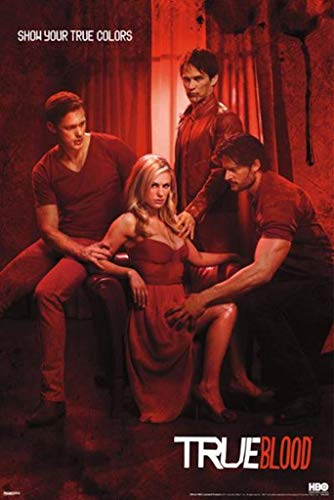 True Blood Show Your True Colors Poster 24x36 inch