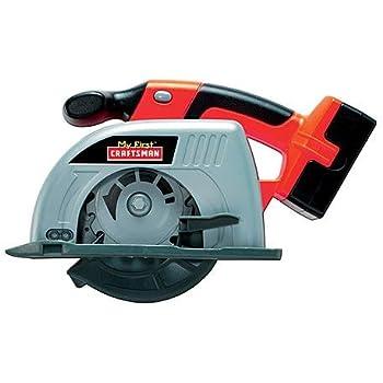 Amazon Com My First Craftsman Power Circular Saw Toys