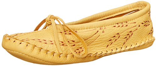 Mukluks Slipper Jane Tan Deerskin Mary Women's Flat Wheat Manitobah dAxqtfwCd