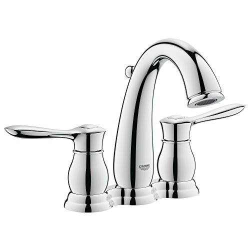 Parkfield 4 In. Centerset 2-Handle Bathroom Faucet - 1.5 GPM 000 Chrome Centerset Faucet