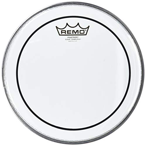 Remo Head Clear Pinstripe - Remo PS0310-MP Clear Pinstripe Marching Tenor Drum Head (10-Inch)