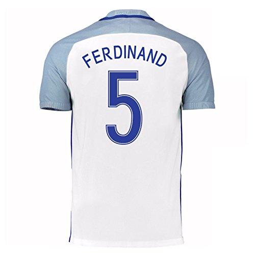 2016-17 England Home Shirt (Ferdinand 5) B01ERK580A
