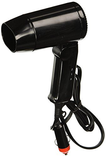 Prime Products 12-0312 12 V Hair Dryer (Blow Dryer Battery Operated)