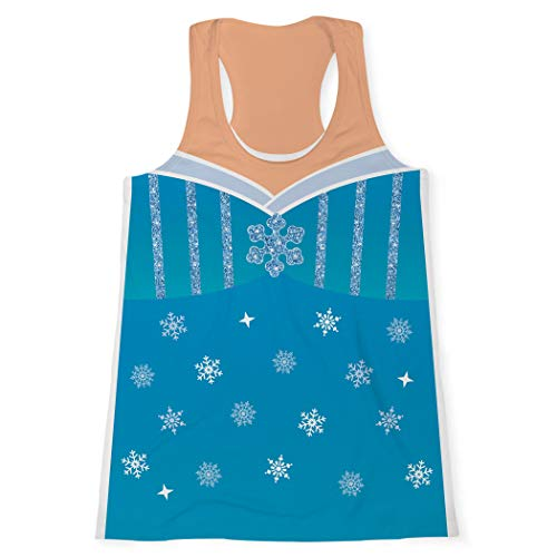 Gone For a Run Women's Performance Tank Top | Ice Queen Costume | Adult -