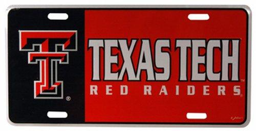 NCAA Texas Tech Red Raiders Car License ()