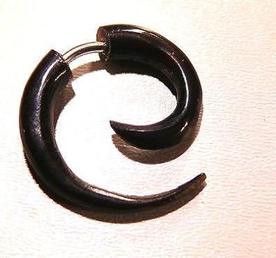 Falso Dilatador Piercing Cuerno étnica pendiente de Gauge Horn ...