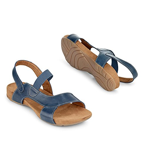 Caprice 9-9-28607-26-803 - Sandalias de vestir para mujer Azul - azul (Ocean)