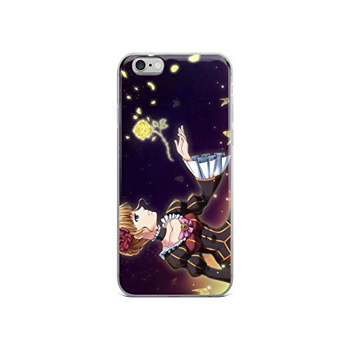(iPhone 6/6s Case Anti-Scratch Japanese Comic Transparent Cases Cover The Golden Dream Anime & Manga Graphic Novels Crystal Clear)