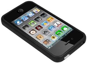 Mumbi Bumper - marco de protección para Apple iPhone 4S, negro