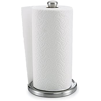 Polder Single Tear Paper Towel Holder Sturdy One Handed Fits Standard