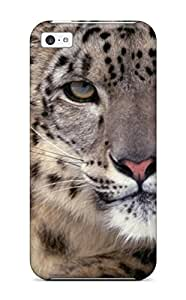 TYH - Desmond Harry halupa's Shop Best 9329305K95422452 Iphone 5/5s Snow Leopard Tpu Silicone Gel Case Cover. Fits Iphone 5/5s phone case