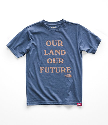 The North Face Boy's S/S Bottle Source Tee - Shady Blue - L ()