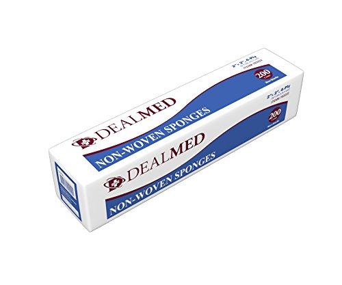 Dealmed Gauze Pads, Non-Sterile, Non Woven, 2