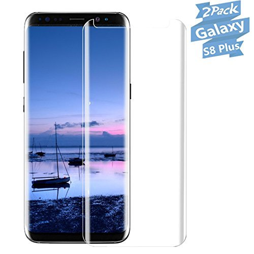 Galaxy S8 Plus Screen protector,QIANXIANG [2Pack] [9H Hardness][Anti-Scratch][Anti-Fingerprint][Bubble Free] Tempered Glass for Samsung Galaxy S8 Plus-Ultra Clear