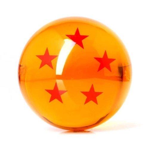Qiyun Acrylic Dragonball Replica Ball (Large/5 Stars) (Dragon Ball Gt The One Star Dragon)